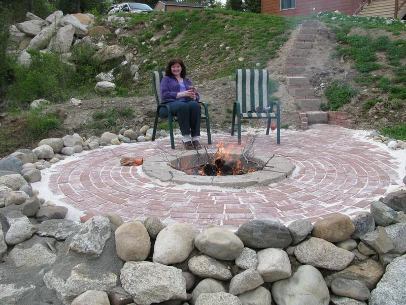 Trendy In-Ground Fire Pits