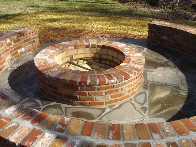 Brick Fire Pit Plans