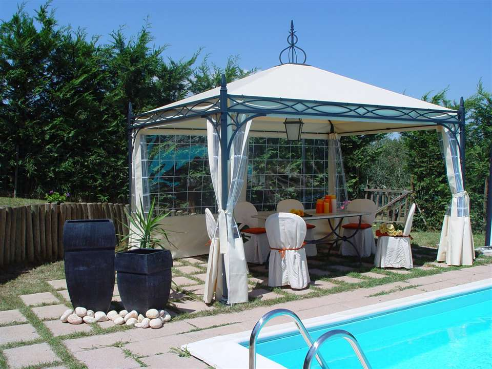 Buy Wrought Iron Gazebo Frame Garden Landscape