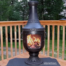 Chiminea outdoor fireplace chimenea firepit chimineas 1