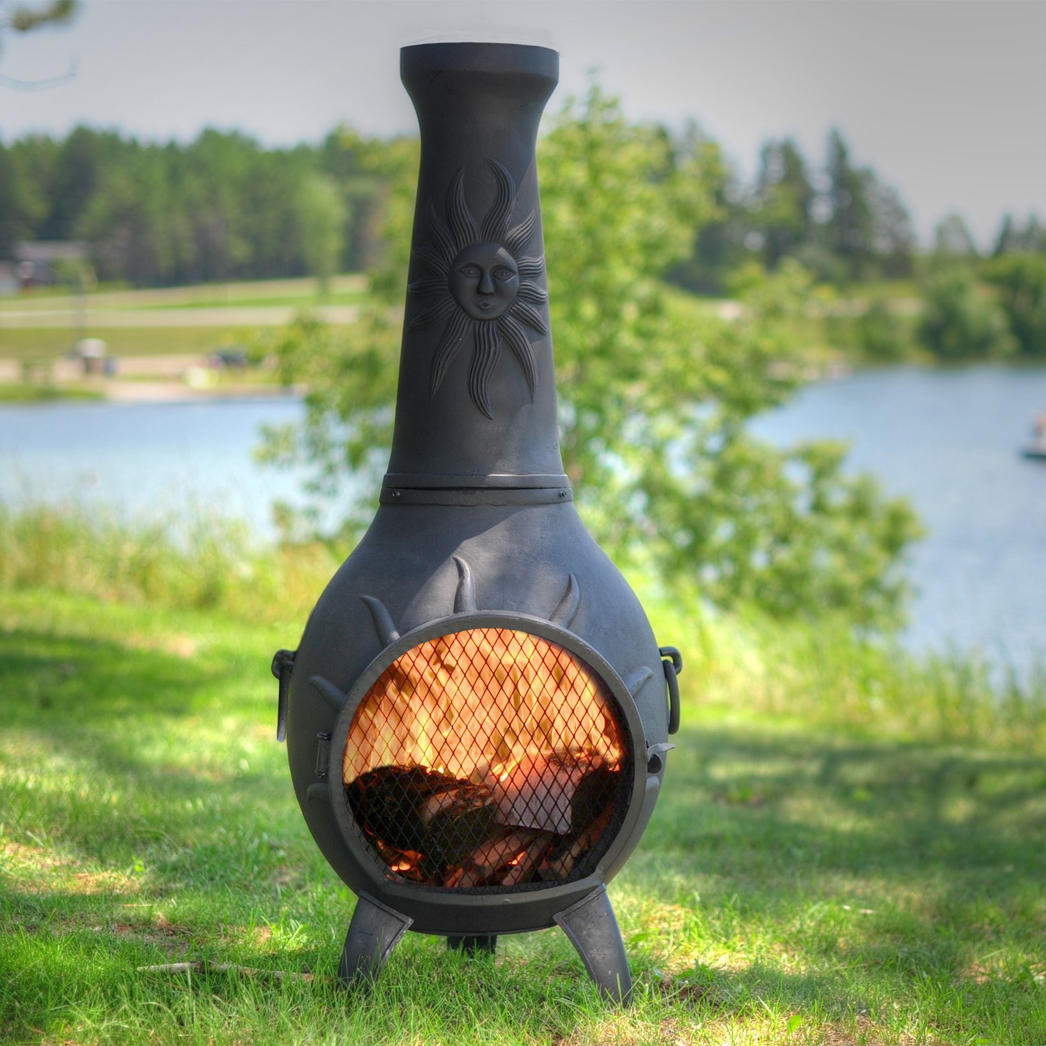 Astonishing Fire Pit Or Chiminea