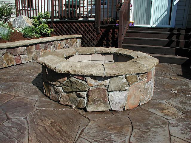 firepit culturedstone