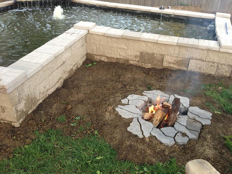 In Ground Fire Pit Designs