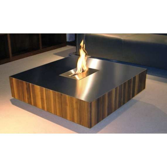 Amazing indoor fire pit coffee table garden landscape for Alcohol fire pit