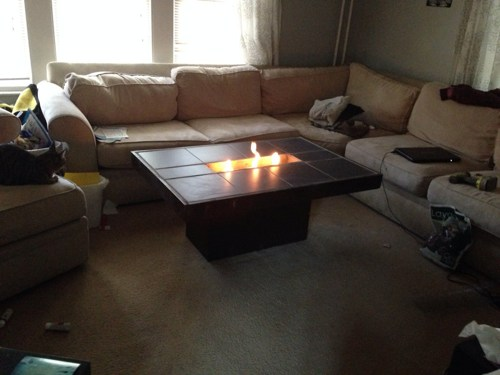 Gallery Of Indoor Fire Pit Table:
