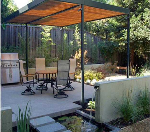 Lovely modern pergola designs garden landscape - Eigentijds pergola design ...