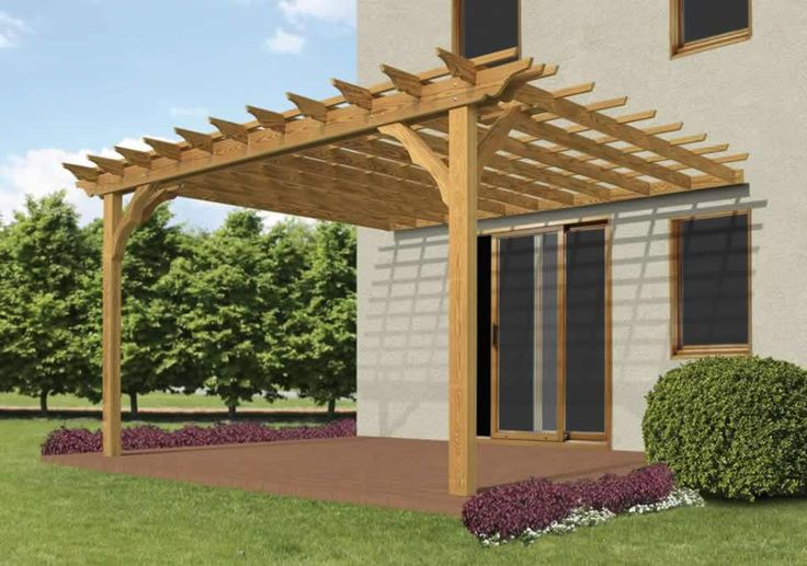 Pergola Attached To House Pictures