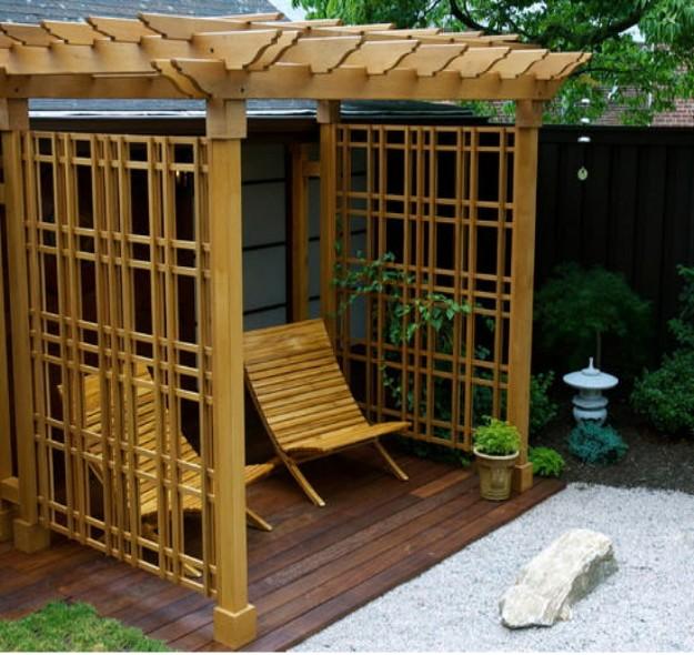 Cheap small pergola ideas garden landscape for Inexpensive gazebo ideas