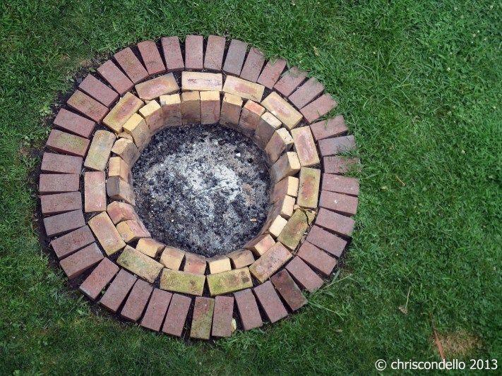 Brick Fire Pit Ideas