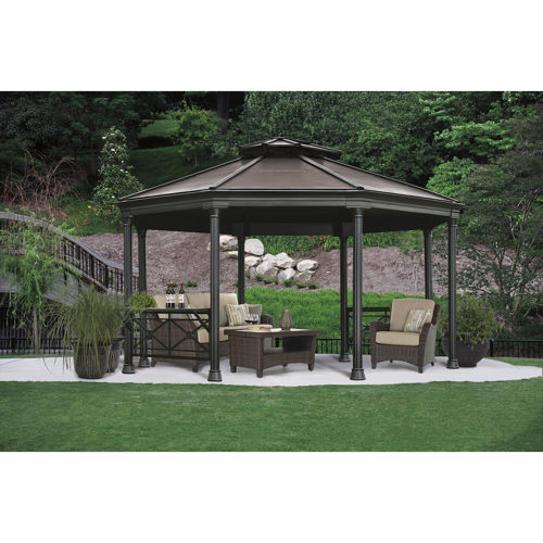 costco gazebo octagon