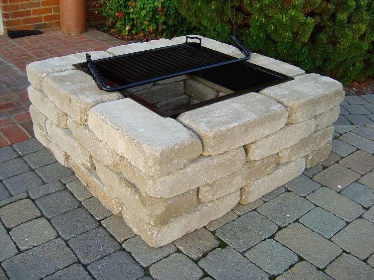 Brick Fire Pit Kit