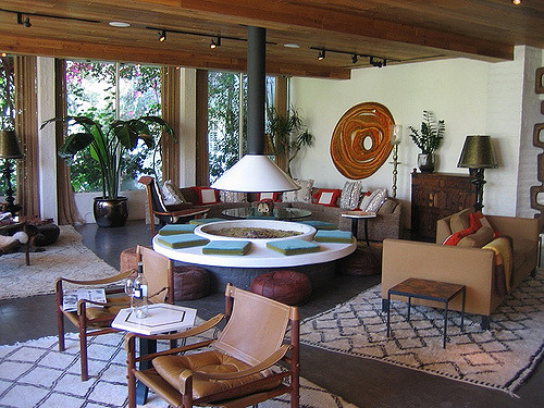 fire pit lobby