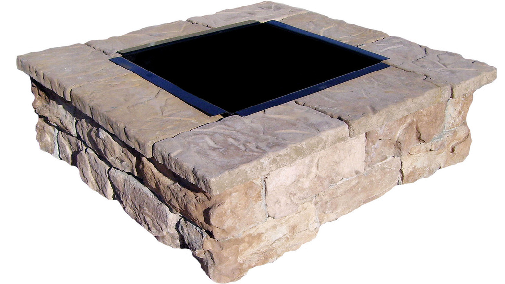 Fire Pit Inserts Square - Fabulous Fire Pit Inserts Square Garden Landscape
