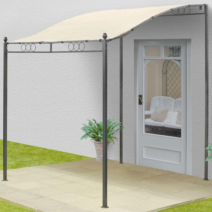 Wall mounted gazebo 2.5m