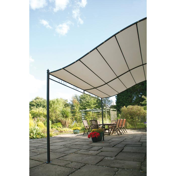 Wall mounted gazebo 2m