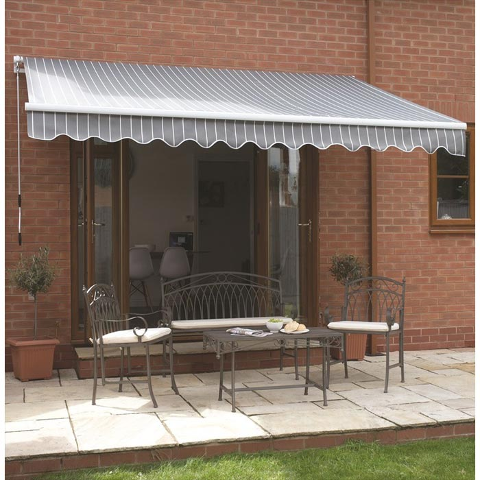 Wall mounted gazebo 3.5m