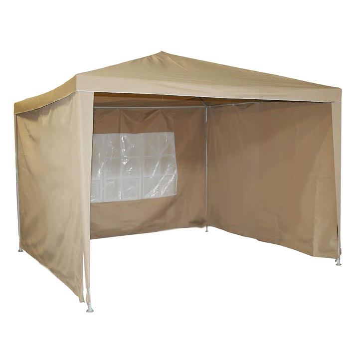 3m x 3m Gazebo: Practical Size Provides Easy Usage