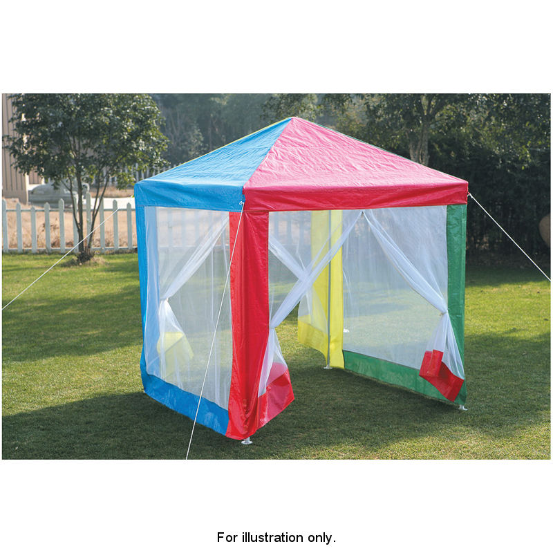 Childrens gazebo with sides