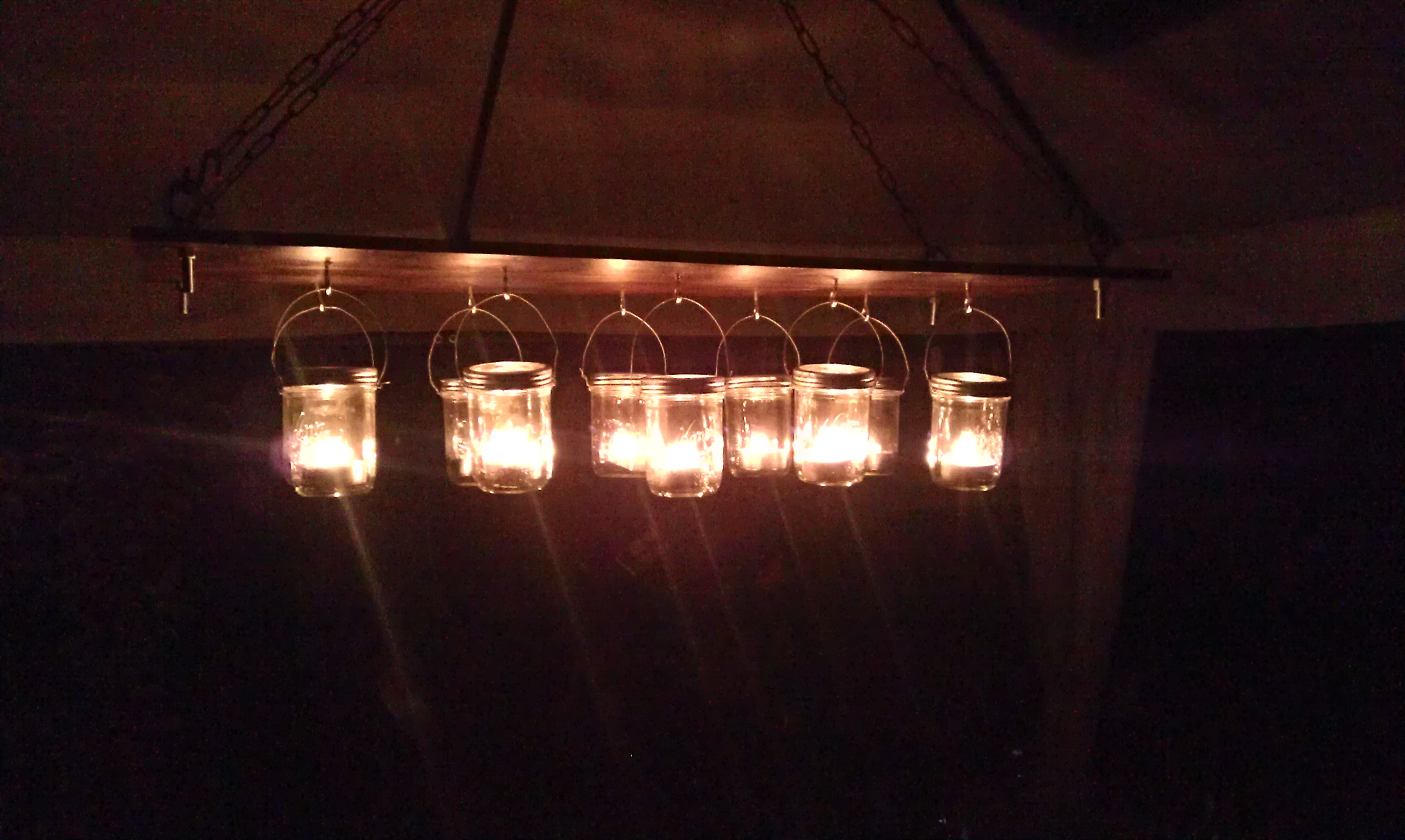 DIY: Gazebo Chandelier
