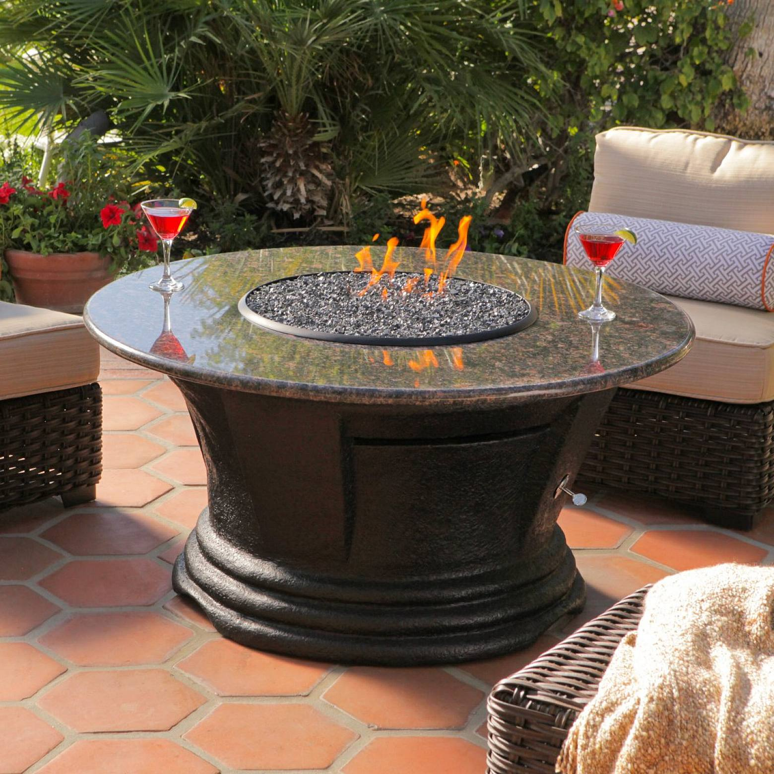 Fire Pit Coffee Table | Stylish Tables Design Ideas
