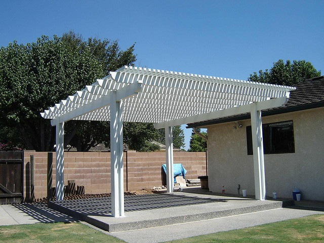 awning arbor lattice pergola patiocover freestanding alumawood aluminumpatio aluminumpergola