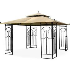 Garden Winds Replacement Canopy for Costco Arrow Gazebo RipLock 350