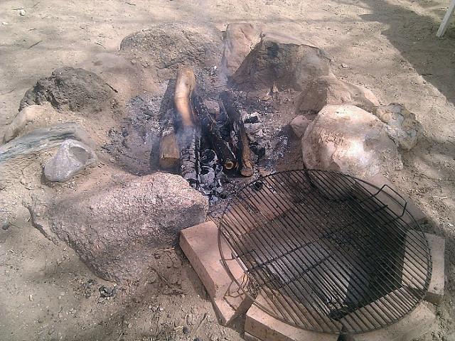 brick stone diy grill firepit