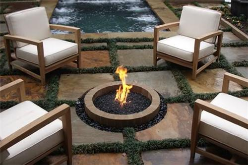 In Ground Gas Fire Pit