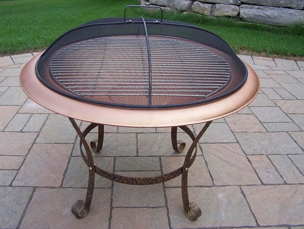 Fabulous Round Fire Pit Grate Cast Iron | Garden Landscape