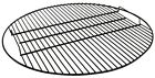 Round Outdoor Fire Pit Cooking Grill Grate w/ Handles