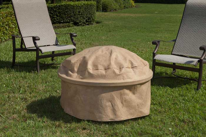 Fire pit covers round 36