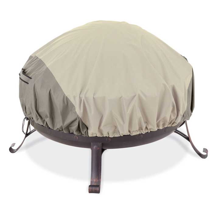 Fire pit covers round