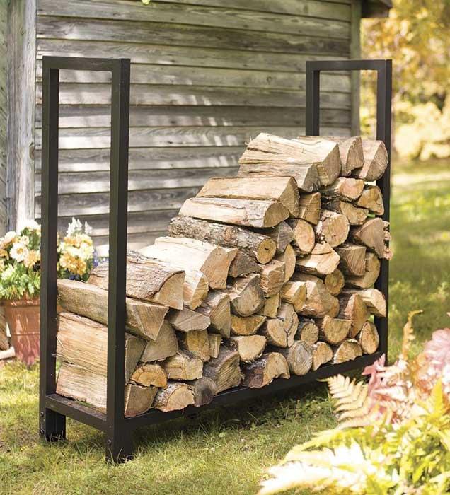 Firewood storage rack australia
