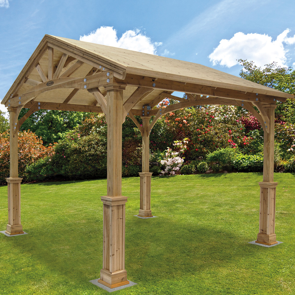 costco cedar gazebo