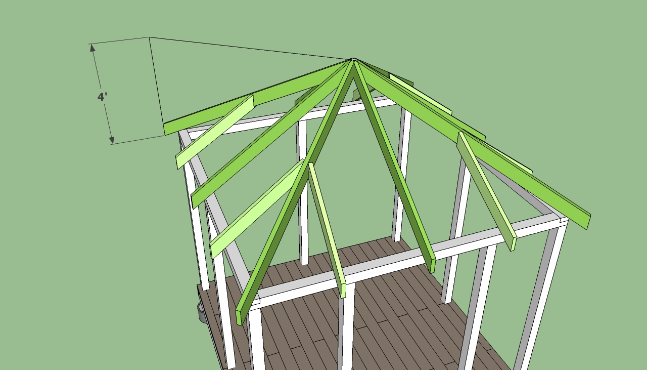 Amazing How To Build A Square Gazebo Roof Garden Landscape