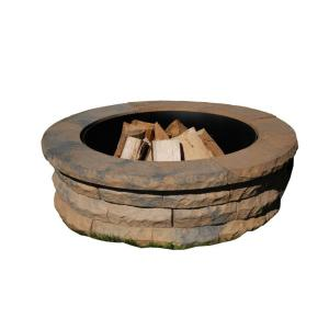 Paver Fire Pit Kit Home Depot