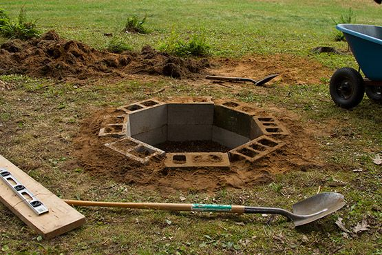 Review Hole In The Ground Fire Pit Garden Landscape