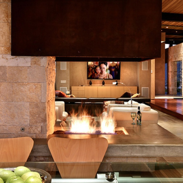Indoor Open Fire Pit