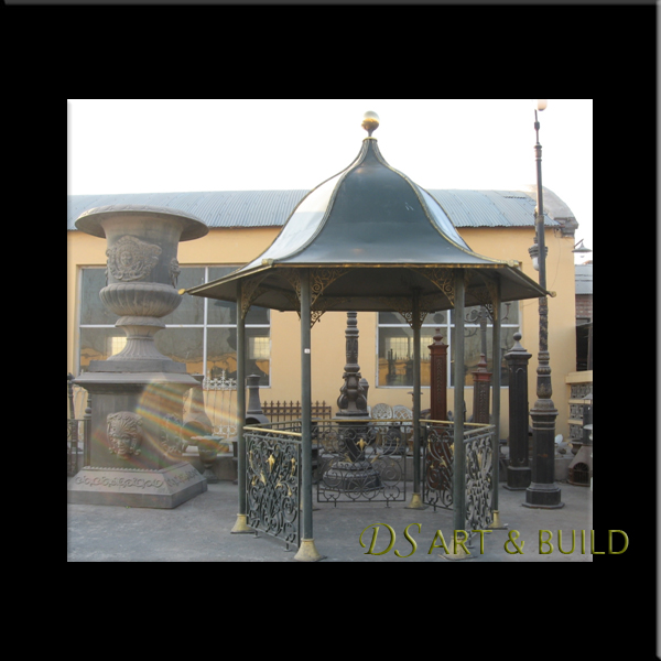 wrought iron pavilion gazebo