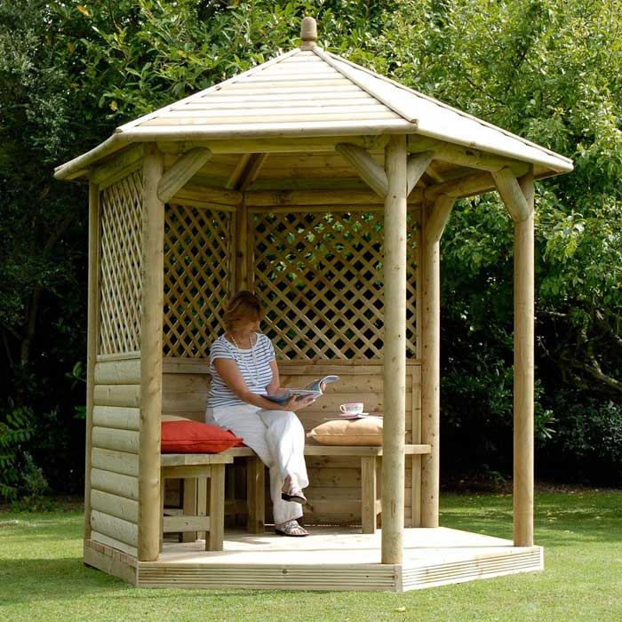 The range garden gazebo