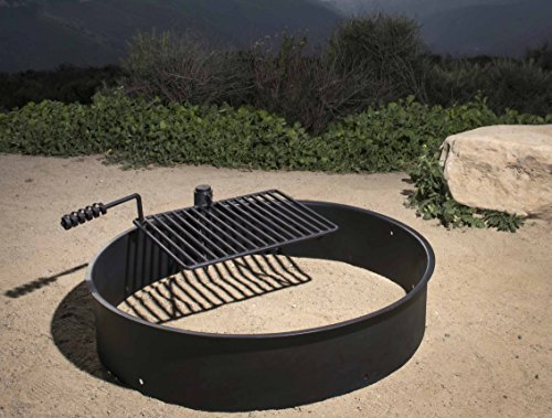 Steel Fire Ring With Grate