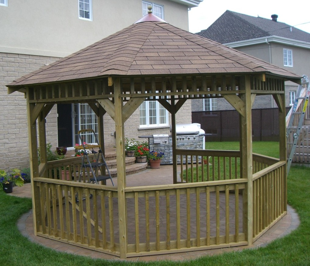 Cheap Almost Free Gazebo Plans For Download