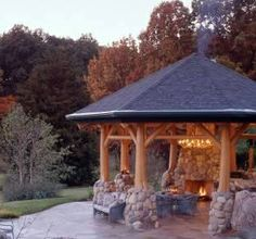 Fabulous how to build a gazebo with a fire pit   Garden ...