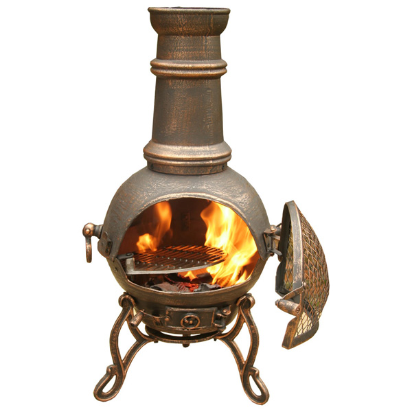Terracotta Outdoor Fireplace. Top Chiminea Chiminea Burner