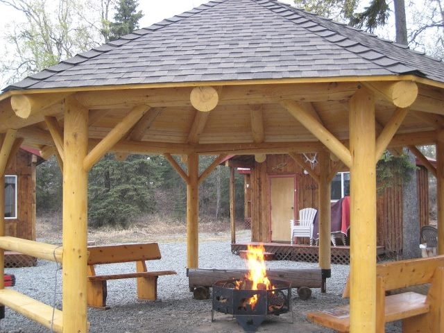gazebo with fire pit inside Quotes - Fabulous How To Build A Gazebo With A Fire Pit Garden Landscape
