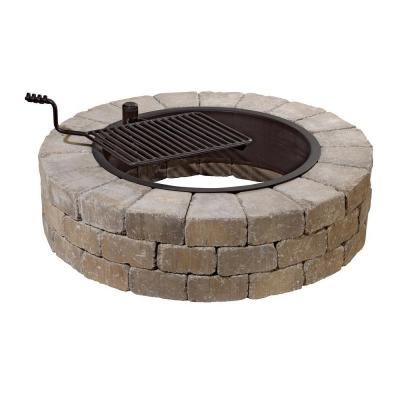 Fire Pit Ring With Grate