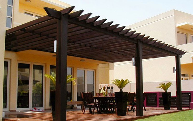 garden treasures modern garden pergola garden landscape. Black Bedroom Furniture Sets. Home Design Ideas