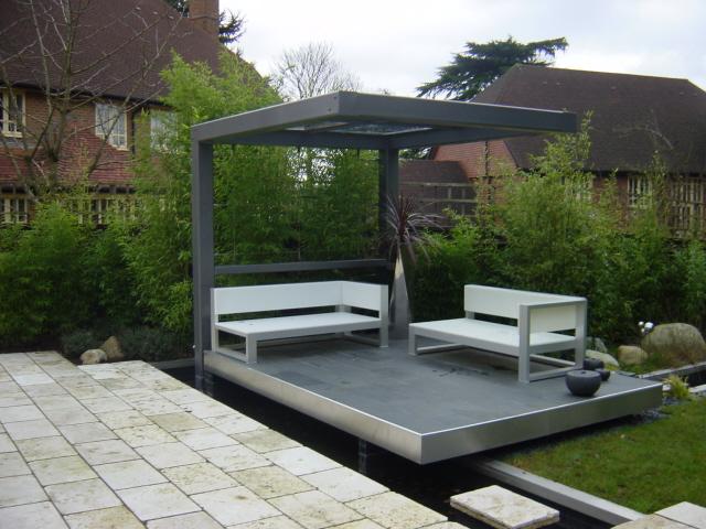 Modern Garden Pergola