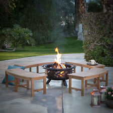 Red Ember Aspen Bronze Round Fire Pit Grill Grate and FREE Cover Comforting Cozy