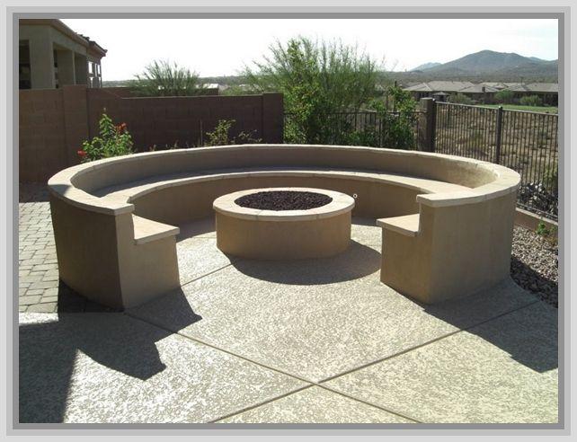 Concrete Fire Pit Forms